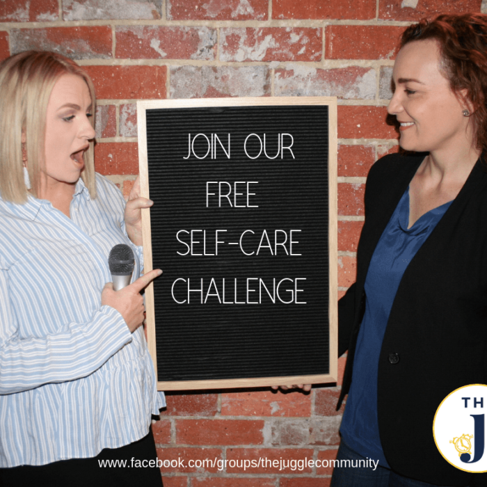 Join our FREE self-care challenge